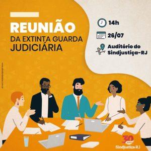 Reunião da Extinta Guarda Judiciária